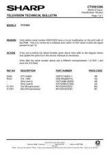 Buy Sharp VCA502HM-027 Service Schematics by download #158369