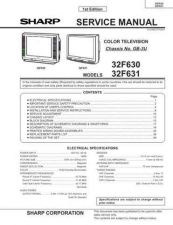 Buy Sharp 31 CDK449W Manual by download #170002