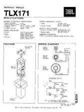 Buy INFINITY TLX181 TS Service Manual by download #147963