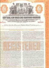 Buy CT New Haven Stock Certificate Company: New York, New Haven and Hartford R~124