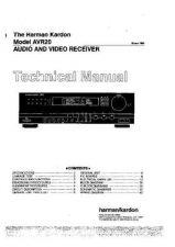 Buy HARMAN KARDON LX9GR Service Manual by download #142747
