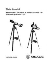 Buy Meade DS2000 g2 makcass Instruction Manual by download Mauritron #194732
