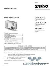 Buy Sanyo VPC-J4EX Manual.pdf_page_1 by download #177563
