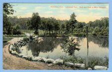 Buy CT Waterbury Lakewood Park Road And Pond At Main Entrance View Of Large Po~693