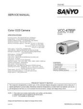 Buy Sanyo Service Manual For VCC-4795P Manual by download #176088