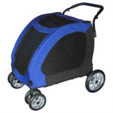 Buy Pet Gear Expedition Pet Stroller Blue