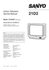 Buy SANYO SKSM0215 Service Data by download #133534