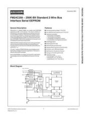 Buy SEMICONDUCTOR DATA 24C256FNJ Manual by download Mauritron #186861