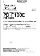 Buy PIONEER PD100E PDF904 by download #127619