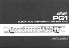 Buy Yamaha PG1 EN Operating Guide by download Mauritron #204996