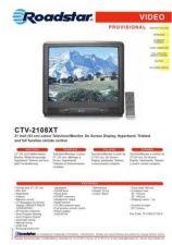 Buy ROADSTAR CTV-2108XT by download #128037