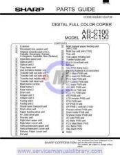 Buy Sharp ARC150-160-250 SM GB(1) Manual by download #179502