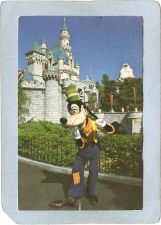Buy CA Anaheim Amusement Park Postcard Disneyland Goofy See Yuh In Fantasyland~226