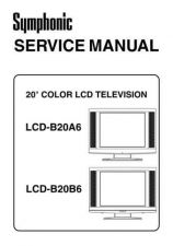 Buy FUNAI LCD-B20A6 LCD-B20B6(L4630BA 31BB) SERVICE MANUAL by download #162751