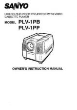 Buy Sanyo PLC-XW15 Manual by download #175066