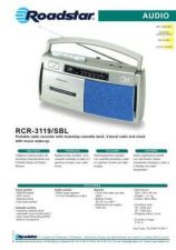 Buy ROADSTAR RCR-3119 SBL by download #128434
