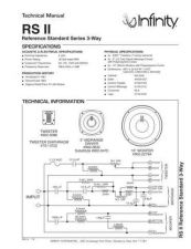 Buy INFINITY RS II TS Service Manual by download #147706
