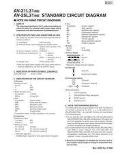 Buy JVC AV-21L31ME AV-25L31ME SCHEM TECHNICAL DATA by download #130530
