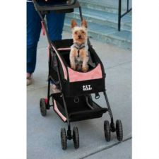 Buy Pet Gear Travel System II Pet Stroller Backpack Car Seat Pink