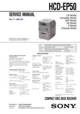 Buy SONY HCD-EP50 Service Manual by download #166941