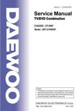 Buy Daewoo DDT-21H9 (E) Service Manual by download #154647