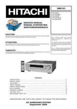 Buy HITACHI HTADD3 SM 0103E Manual by download Mauritron #186152