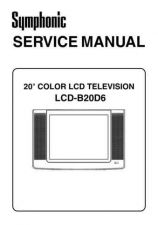 Buy FUNAI LCD-B20D6 (L4633BD) SERVICE MANUAL by download #162752