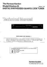 Buy Harman Kardon CITATION 23 SM Manual by download Mauritron #185629