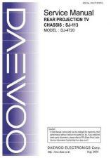 Buy DAEWOO SM DJ-4720 (E) Service Data by download #146501