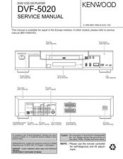 Buy KENWOOD DVF-3030 Technical Info by download #151829