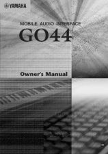 Buy Yamaha GO44_EN_OM Operating Guide by download Mauritron #203729