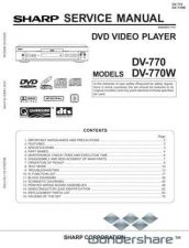 Buy Sharp 63 DV-770W Manual.pdf_page_1 by download #178755