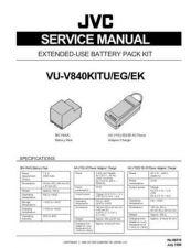 Buy Vu-V840kitu, V840kiteg, V840kitek 86516 Service Schematics by download #132243