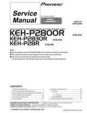 Buy PIONEER C2264 Service Data by download #152514