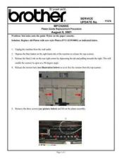 Buy Brother SU_F1078 Service Schematics by download #135080