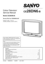 Buy Sanyo CE28DN6-B-00 SM Manual by download #173113