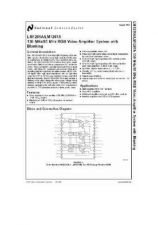 Buy SEMICONDUCTOR DATA LM1207ANJ Manual by download Mauritron #189123