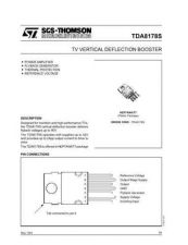 Buy MODEL TDA8178S Service Information by download #124826