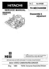 Buy Hitachi TH MECHANISM NO 6406E Manual by download Mauritron #184635