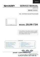 Buy Sharp 28JW73H SM GB Manual.pdf_page_1 by download #178108