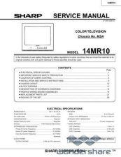 Buy Sharp 14MR10 SM GB(1) Manual.pdf_page_1 by download #177761