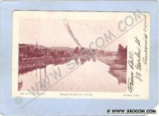 Buy CT Ansonia Naugatuck River At Ansonia w/RR Tracks & Train ct_box1~5