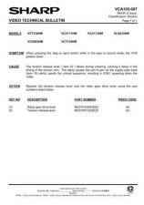 Buy Sharp VCT510HM-002 Service Schematics by download #159383
