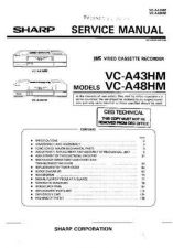 Buy Sharp VCA5011HM-008 Service Schematics by download #158318
