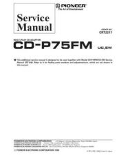 Buy PIONEER C2217 Service Data by download #148787
