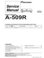Buy PIONEER R2285 Service Data by download #153260