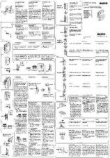 Buy Sanyo M W712F Operating Guide by download #169346