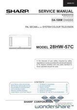 Buy Sharp 28HW57C SM GB(1) Manual.pdf_page_1 by download #178073