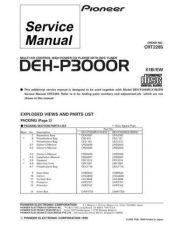 Buy PIONEER C2285 Service Data by download #148807