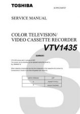 Buy Toshiba VTV1434CD Manual by download #172531